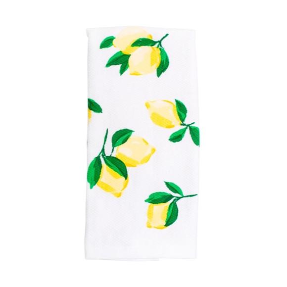 🆕Kate Spade🍋Make Lemonade Kitchen Tea Towel Set